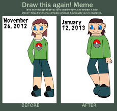 Draw This Again Meme Blank - look at all the blank meme