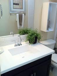 bathroom granite ideas black stained woodne bathroom vanity with white marble top and