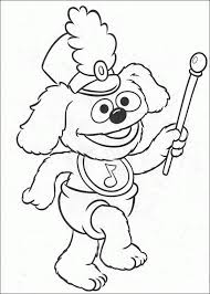 21 muppet show coloring pages images coloring