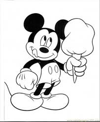 478 best mickey mouse u0026 friends colouring pages images on