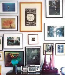 Hanging Canvas Art Without Frame How To Hang Framed Artwork Without Using Nails Apartment Therapy