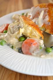 chicken or turkey and biscuits casserole about a