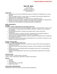 Resume For Caregiver Resume Examples For Registered Nurse Resume Example And Free