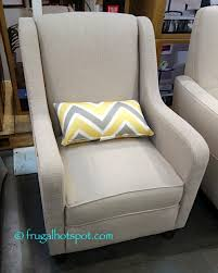 Fabric Accent Chair True Innovations Fabric Accent Chair Costco Frugalhotspot