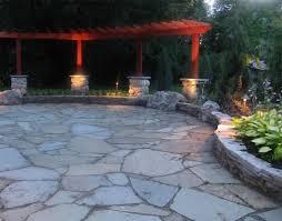 Backyard Stone Patio Ideas by Backyard Stone Patio Designs Backyard Stones Back Yard Flagstone