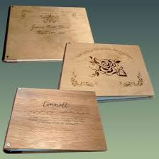 personalized wedding album buy a made personalized custom engraved wedding album