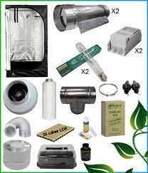 chambre culture complete kit complet 2x400w cooltube box 150 557 10 growshop materiel de cul