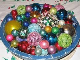Christmas Decorations Lights In A Bowl by C Dianne Zweig Kitsch U0027n Stuff Kitschy Thrifty Retro Christmas