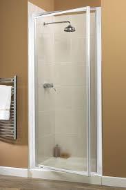 800mm Pivot Shower Door Aqualux Aquarius Xtra Devit 800mm Pivot Shower Door White Frame Ebay