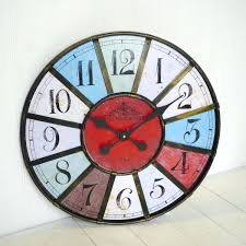 articles with modern contemporary mechanical gear wall clock with