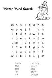 winter hat coloring pages free kids printable activities easy winter word search u2013 coloring