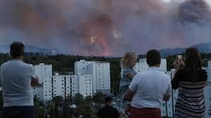 cuisine centrale aubagne près d aubagne incendie de 150 hectares des vacanciers évacués