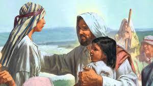 jesus christ blesses the children youtube