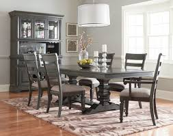 Dining Set With Buffet by Garrison Trestle Dining Set W Hutch And Buffet By Standard