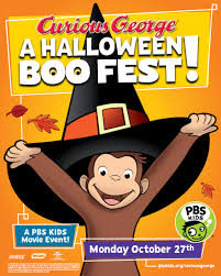 cartoon images of halloween celebrate halloween with curious george wdse wrpt pbs 8 u0026 31