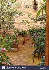 home various flowers in pots design italian courtyards stock home various flowers in pots design italian courtyards