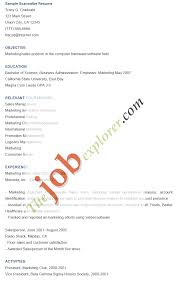 scannable resume template 28 images resumes letters career