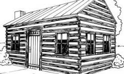 log cabin drawings how to draw a log cabin howstuffworks