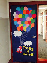 Up Decorations Classroom Door Decor Inspired By The Up Instead Of A House