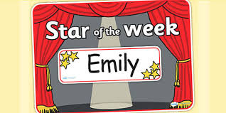 star of the week stage a3 poster editable star week a3