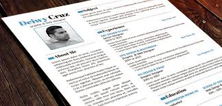 Design Resume Template Free Free Creative Resume Templates Word 25 Best Creative Cv Template
