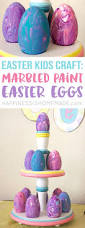 easter kids craft marbled easter eggs happiness is homemade