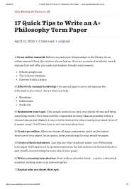 how to write term paper outline philosophy term paper education in essay essay writing on quick tips to write an a philosophy term paper quickessaywr