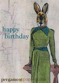 weird birthday card free printable invitation design