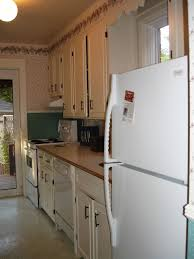 Kitchen Cabinet Bulkhead Galley Kitchen Designs With Light Blue Cabinets Color Advantages