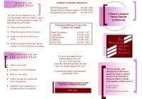 travel brochure template google docs best of pamphlet template