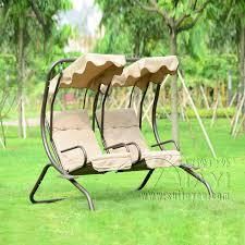 si e balancoire amour sièges durable fer jardin balançoire hamac en plein air