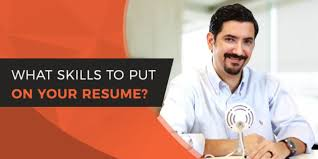 What To Put On Your Resume Skills To Put On A Resume 1 Guide To Finding Resume Skills