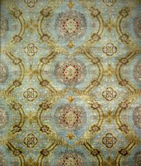 Blue And Gold Rug Transitional Area Rug Roselawnlutheran