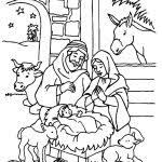 christmas christian coloring pages best resume collection
