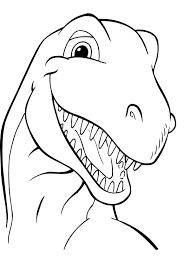 dino coloring pages simple dinosaur coloring pages free coloring