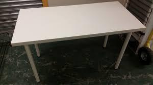 white ikea table white ikea desk used furniture manchester