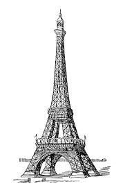 The Eiffel Tower by Eiffel Tower Paris Coloring Pages For Adults Justcolor