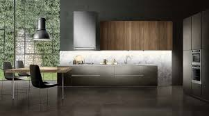touch fitted modular italian kitchen with corner layout