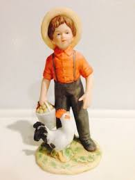 home interior figurines homco home interior figurine amish boy 1415 retired what s it