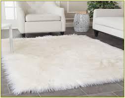 faux fur area rug bedroom gregorsnell area rugs faux fur diy