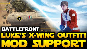 x wing fighter halloween costume star wars battlefront luke u0027s x wing mods in battlefront