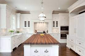 Kitchen Counter Island Kitchen Island Solid Wood Countertop Decoist Building The Kitchen
