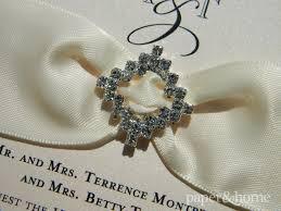 Bling Wedding Invitations Bling Wedding Invitations Amanda U0026 Tony Paper And Home