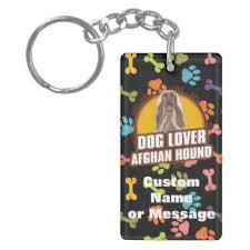 afghan hound keyring dog paw key rings u0026 dog paw key ring designs zazzle co nz