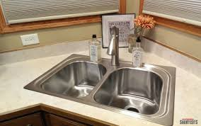 moen kitchen sinks and faucets diy moen kitchen sink faucet install everyday shortcuts