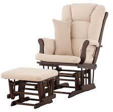 Glider Chair With Ottoman Stork Craft Custom Tuscany Glider And Ottoman Espresso Beige