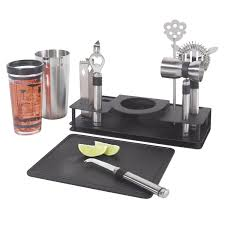Home Bar Sets by 10 Piece Cocktail Making Set Wine Enthusiast