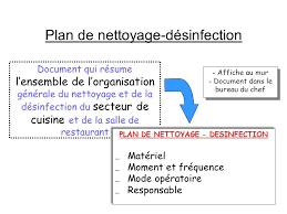 plan de nettoyage et de d駸infection cuisine cuisine tableau plan de nettoyage cuisine collective tableau plan