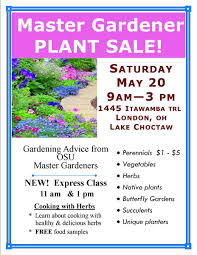 native plants of ohio plant sale at choctaw lake community garage sale osu extension
