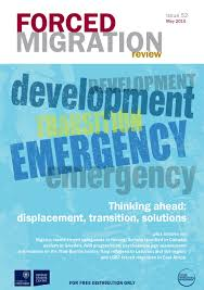 forced migration review issue 52 by forced migration review issuu